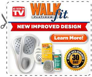 Product Information. WalkFit® Platinum Orthotics will improve your comfort when standing, walking or running. However, before you wear them for the first time, it is important to read the following instructions.