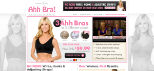 Rhonda Shear Ahh Bra   Say Goodbye to Wires  Hooks and Straps   Get 3 Ahh Bras for the price of 1