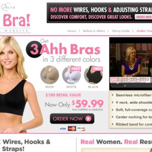Rhonda Shear Ahh Bra Reviews: Free Youself