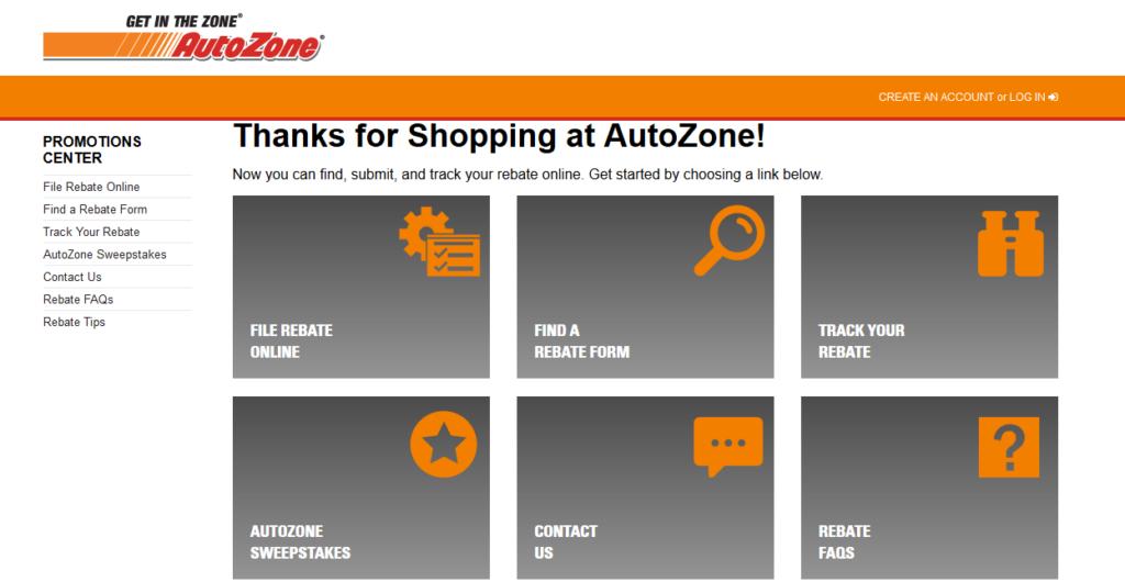 Rebate AutoZone