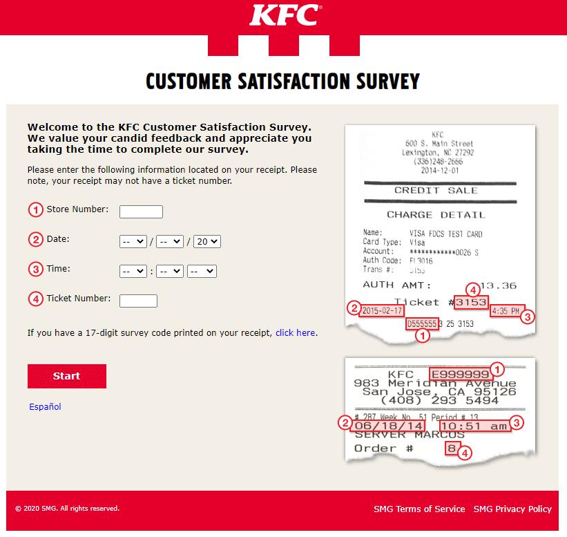 www.MyKFCExperience.com Surveyy