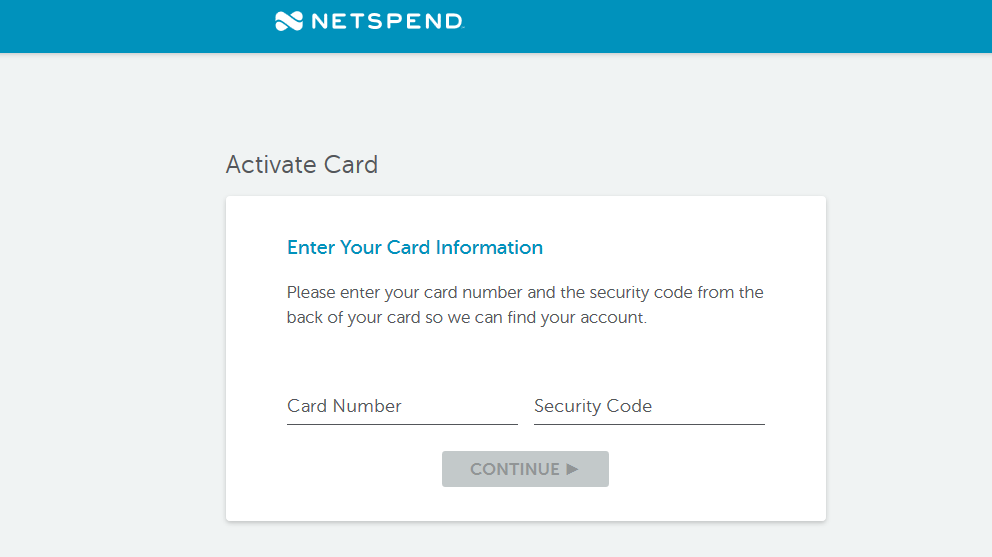 Netspend.com/Activate