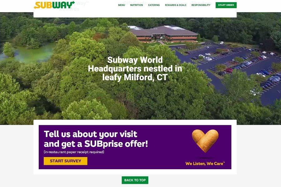 TellSubway Survey Website