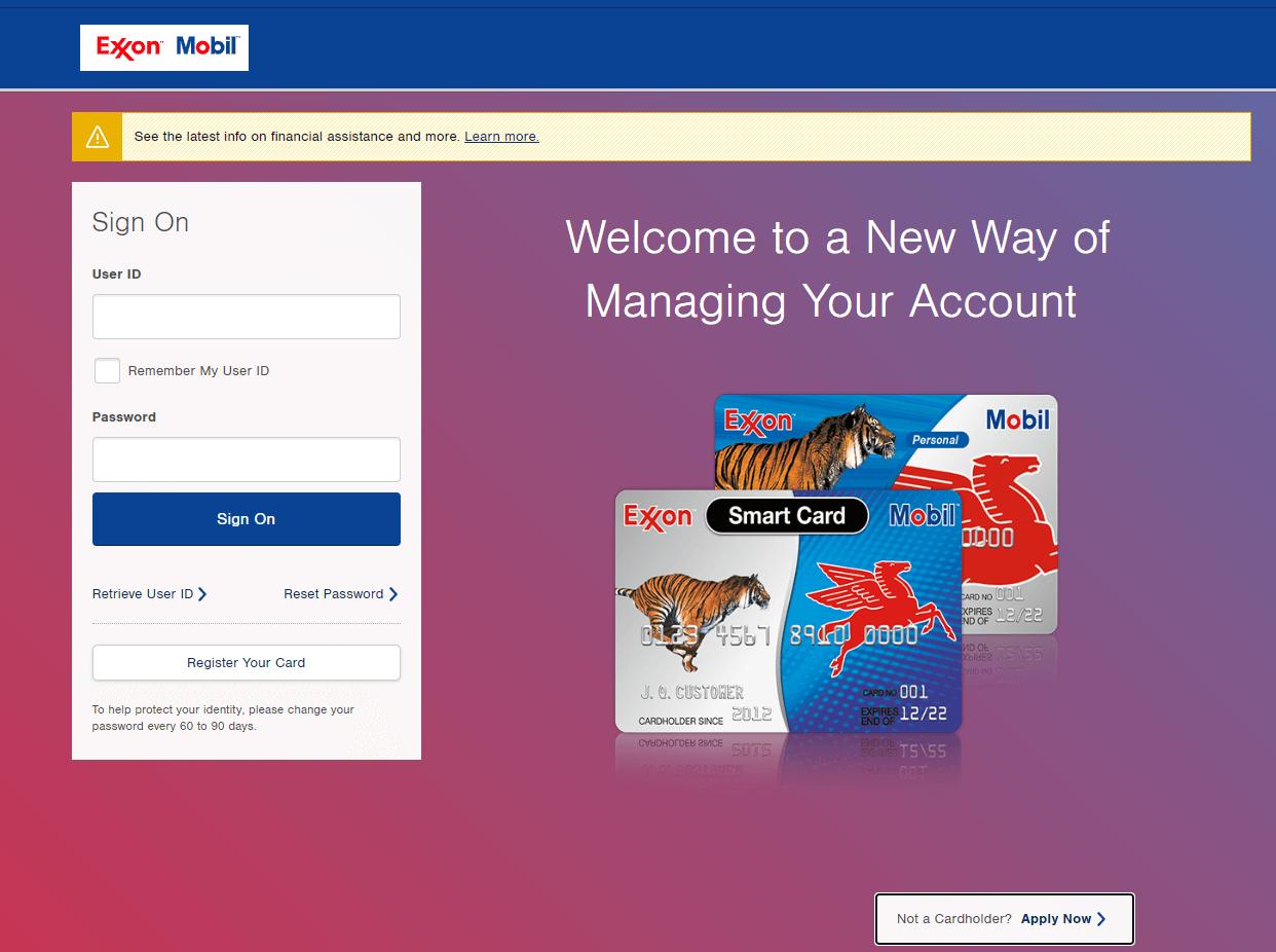 ExxonMobil Credit Card