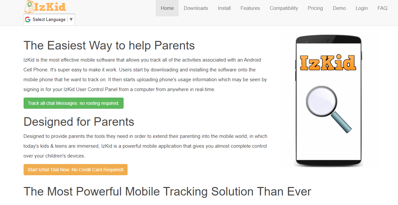 IzKid homepage