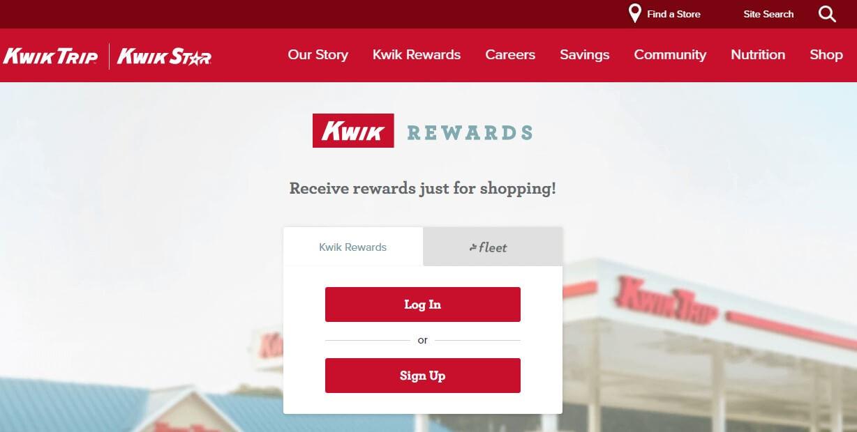 Kwik Trip Rewards Program
