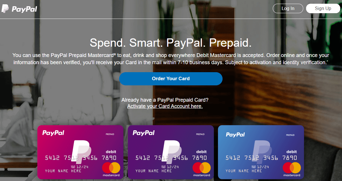 paypal.com/prepaid