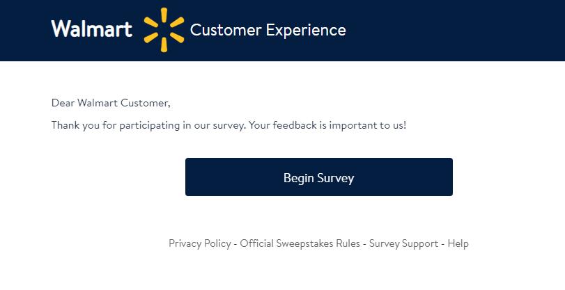 survey Walmart