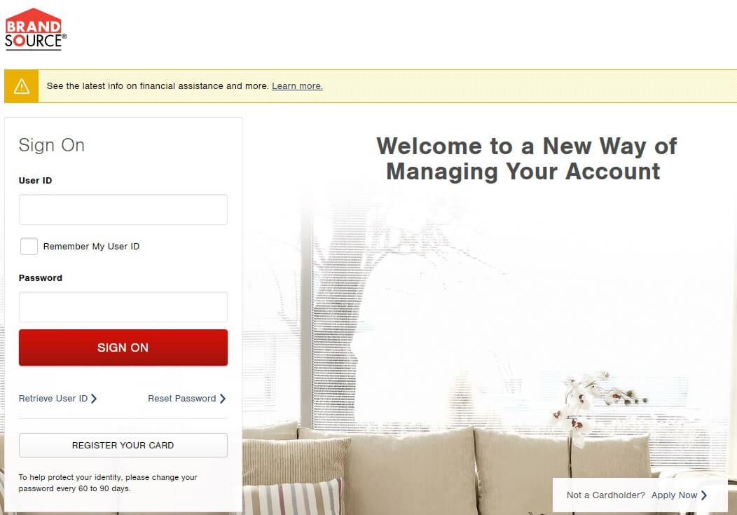 BrandSource Account Online