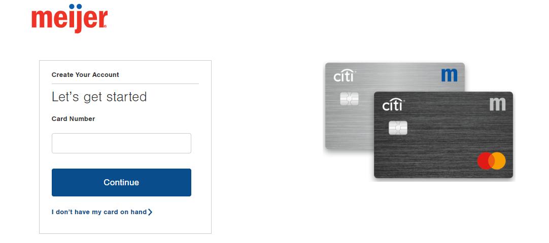 Meijer credit card